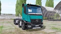 Mercedes-Benz Arocs 2013 hooklift para Farming Simulator 2017