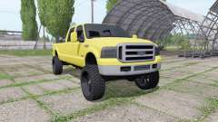 Ford F-350 Super Duty Crew Cab 2005 para Farming Simulator 2017