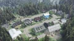 Las afueras de la aldea de Calvo Tendero para Spin Tires