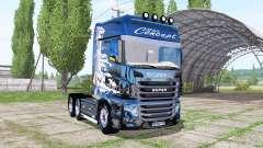 Scania R700 Evo Milch Concept para Farming Simulator 2017