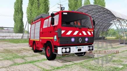 Renault G230 Sapeurs-Pompiers Camiva para Farming Simulator 2017