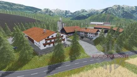 Alpine valley para Farming Simulator 2017