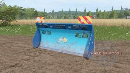 Aldo Annovi silage shield v1.1 para Farming Simulator 2017