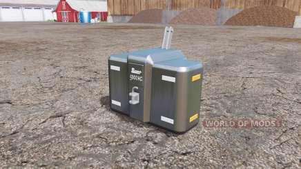 Suer SB 5000 para Farming Simulator 2015