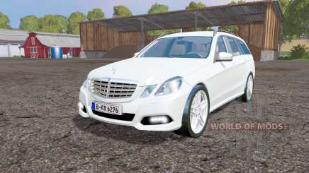 Mercedes-Benz E 350 CDI Estate (S212) 2009 para Farming Simulator 2015