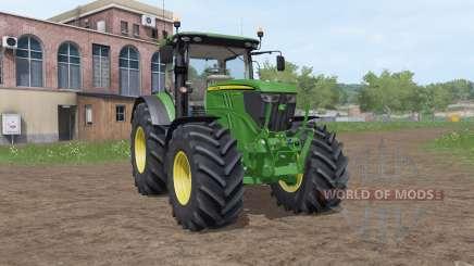 John Deere 6215R v3.2 para Farming Simulator 2017