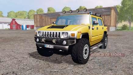 Hummer H2 SUT 2005 para Farming Simulator 2015