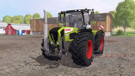 CLAAS Xerion 3300 Trac VC v5.2 para Farming Simulator 2015