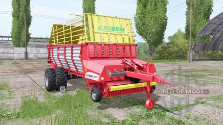 POTTINGER EUROBOSS 330 T twin tires v1.5 para Farming Simulator 2017