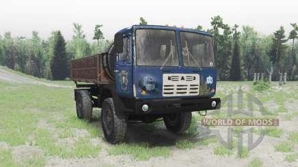 KAZ 4540 Cólquida v1.1 para Spin Tires