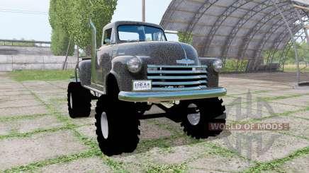 Chevrolet 3100 pickup (HP-3104) 1950 para Farming Simulator 2017