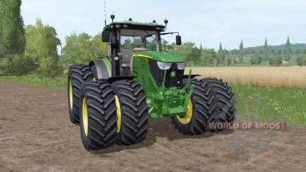 John Deere 6195R v3.1 para Farming Simulator 2017