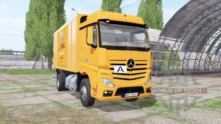 Mercedes-Benz Actros (MP4) garbage truck para Farming Simulator 2017