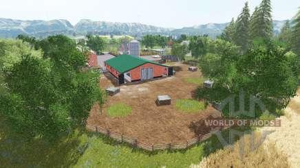 Pueblo polaco v3.0 para Farming Simulator 2017