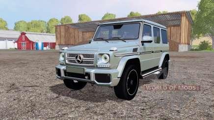Mercedes-Benz G 65 AMG (W463) para Farming Simulator 2015