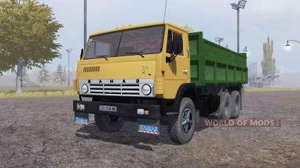 KamAZ 55102 v1.Uno para Farming Simulator 2013