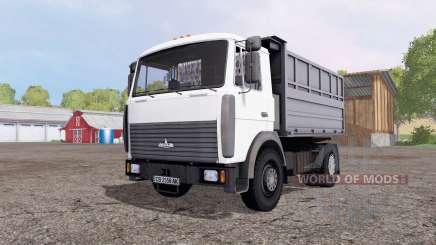 MAZ 5551А2-4327 para Farming Simulator 2015