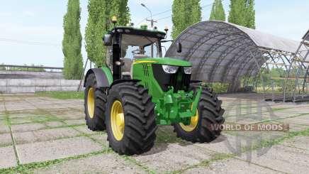 John Deere 6195R v2.1.2 para Farming Simulator 2017