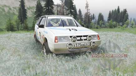 VAZ 2108 rally para Spin Tires