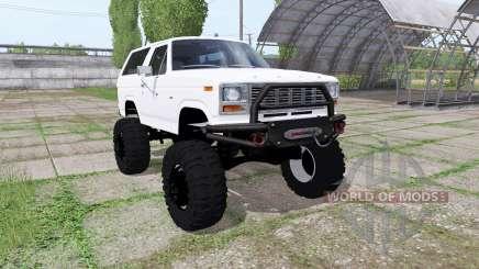 Ford Bronco XLT (U150) 1981 para Farming Simulator 2017