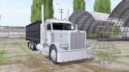 Peterbilt 389 grain truck para Farming Simulator 2017