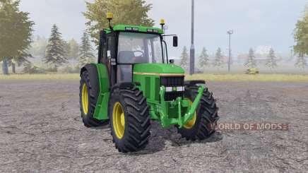 John Deere 6100 v2.1 para Farming Simulator 2013