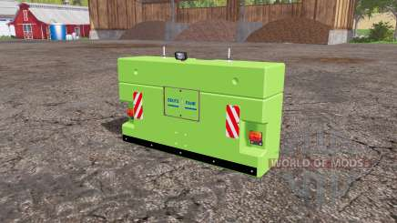 Deutz-Fahr weight para Farming Simulator 2015