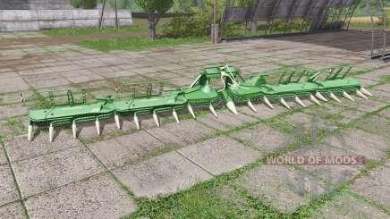 Krone EasyCollect 1600-4 para Farming Simulator 2017