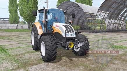 Steyr Multi 4115 front loader para Farming Simulator 2017