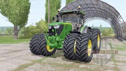John Deere 6175R v3.0 para Farming Simulator 2017