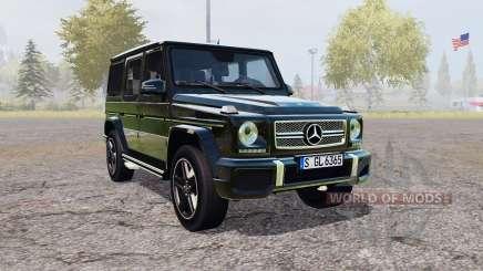 Mercedes-Benz G 65 AMG (W463) para Farming Simulator 2013