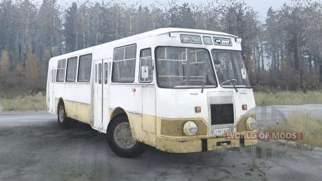 LiAZ 677 para Spintires MudRunner