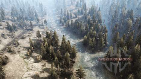 Siberiano distrito para Spintires MudRunner
