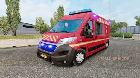 Special Vehicles Traffic para Euro Truck Simulator 2