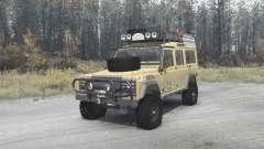 Land Rover Defender 110 Station Wagon para MudRunner