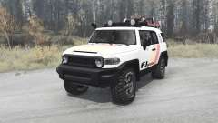 Toyota FJ Cruiser (GSJ15W) 2010 para MudRunner
