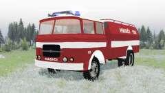 Skoda-LIAZ 706 RT 1957 feuerwehr para Spin Tires