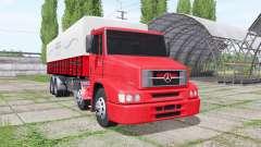 Mercedes-Benz L 1620 Eletronic Bi-Truck para Farming Simulator 2017