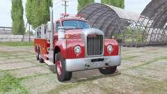 Mack B61 Fire Rescue para Farming Simulator 2017