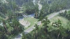 De drenaje 5 - Sobre la colina para Spin Tires