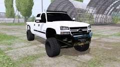 Chevrolet Silverado 2500 HD Crew Cab 2006 para Farming Simulator 2017