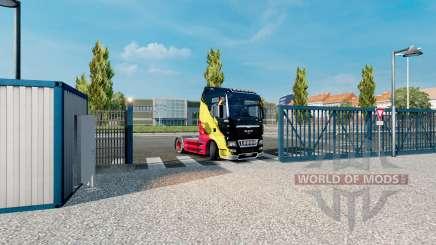 Animación de la puerta de la v2.4 para Euro Truck Simulator 2