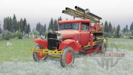 GAZ AA PMG-1 1932 para Spin Tires
