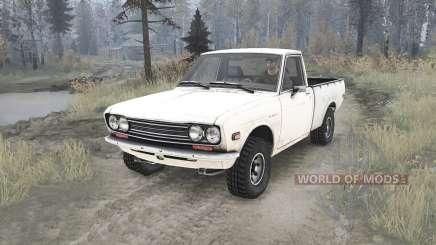 Datsun Pickup (521) 1969 para MudRunner