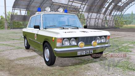Fiat 125p 1982 Volkspolizei para Farming Simulator 2017
