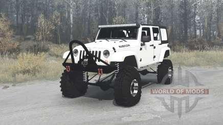 Jeep Wrangler Unlimited Rubicon (JK) crawler para MudRunner