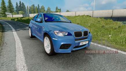 El BMW X6 M (Е71) 2009 para Euro Truck Simulator 2