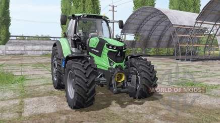 Deutz-Fahr Agrotron 6165 TTV para Farming Simulator 2017