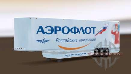 AeroDynamic Airlines Trailer para Euro Truck Simulator 2