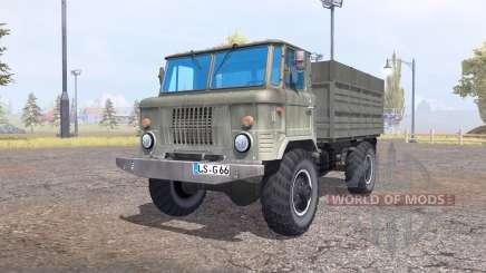 GAZ 66 para Farming Simulator 2013
